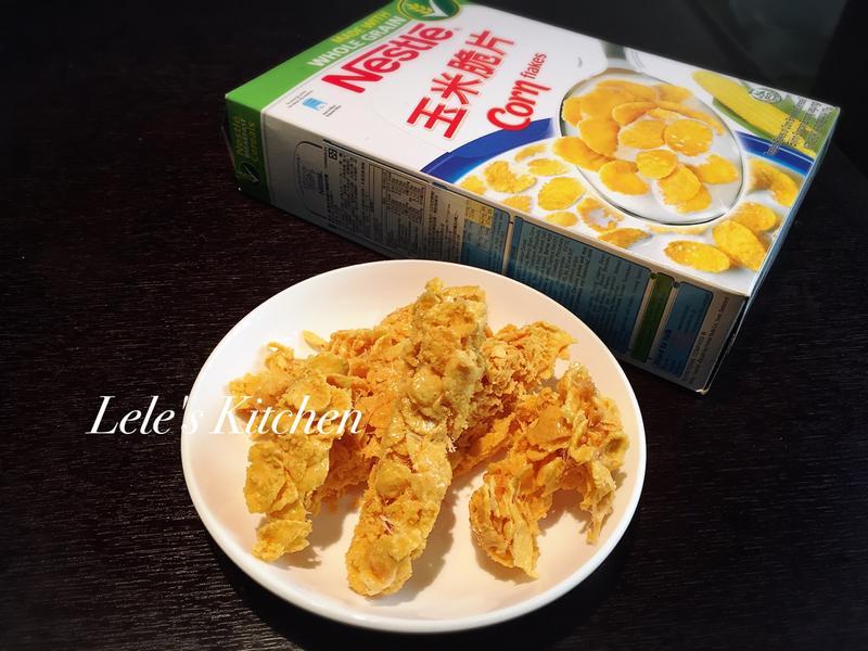 棉花糖玉米脆餅『雀巢玉米脆片』