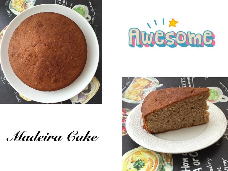 Madeira Cake 馬德拉蛋糕