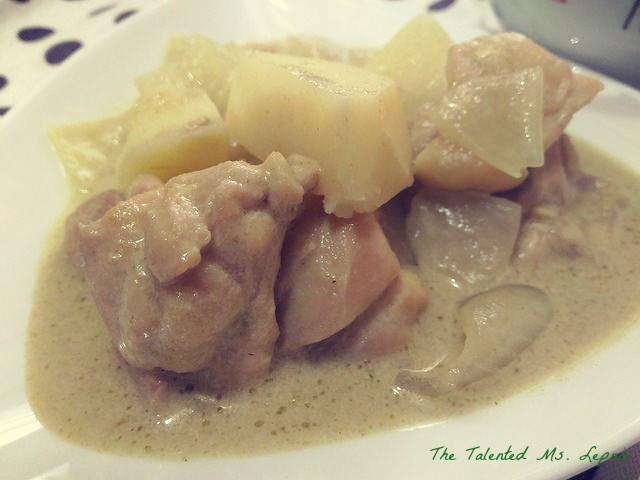 泰式椰漿綠咖哩雞肉飯【全聯快炒包料理】
