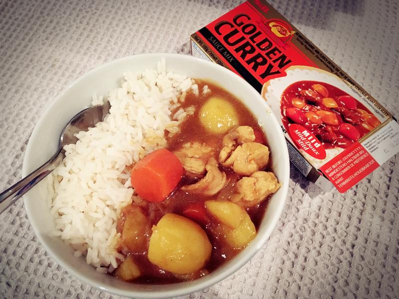 簡單料理X日式咖哩