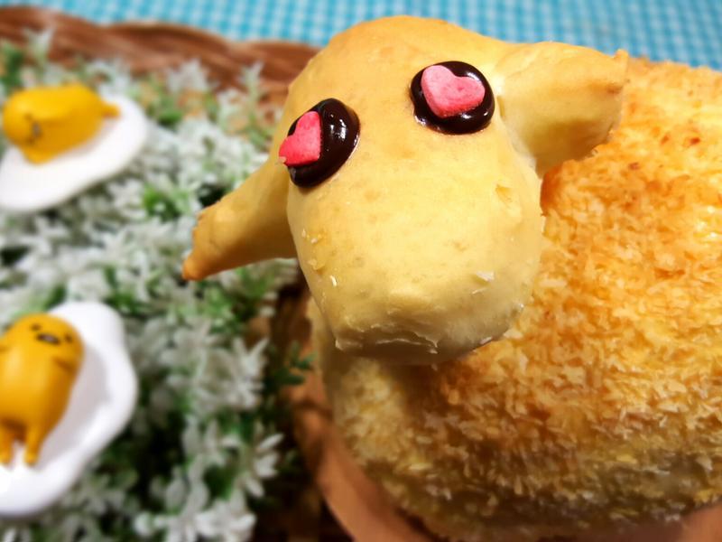 羊咩咩椰子麵包【日正食品】