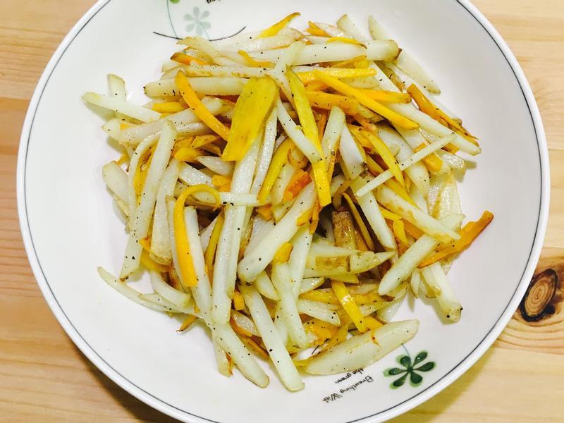 煎馬鈴薯地瓜條