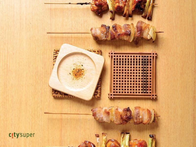 【清酒美食遊】照燒雞肉串與九州鹽烤豬五花