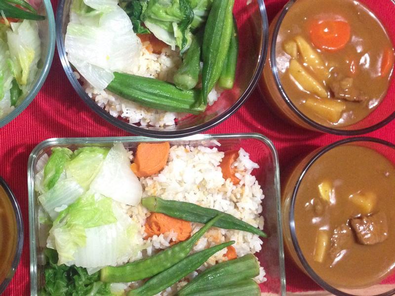 [便當]咖哩雞蔬菜飯