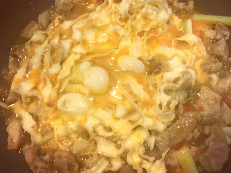 番茄刀削麵
