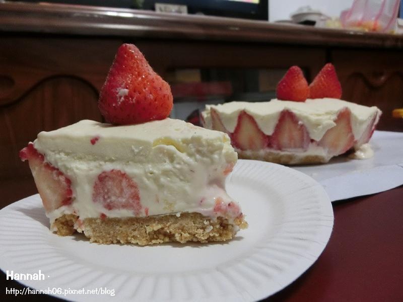 草莓白巧克力乳酪蛋糕