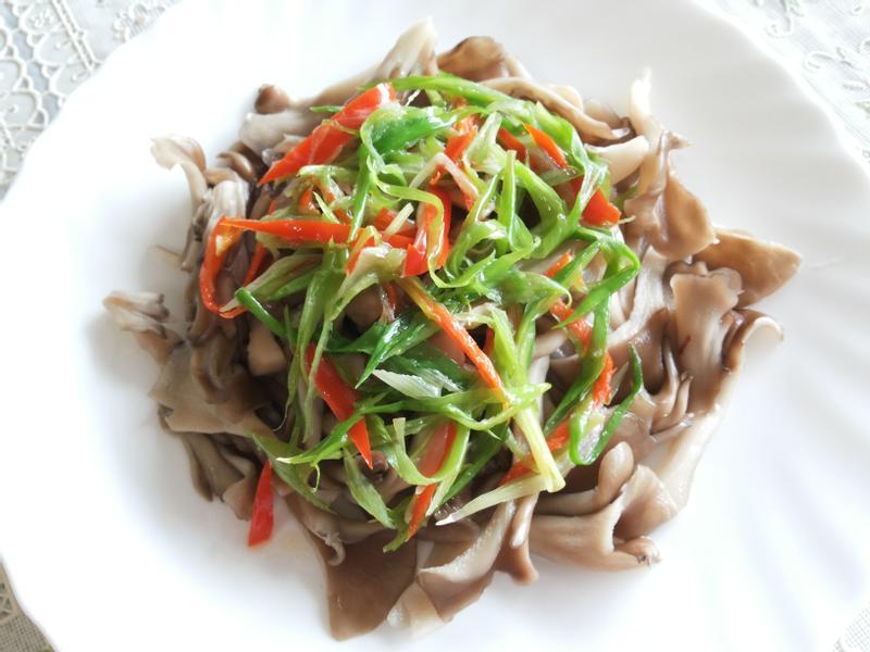 蔥油拌舞菇-五分鐘上菜【好菇道美味家廚】