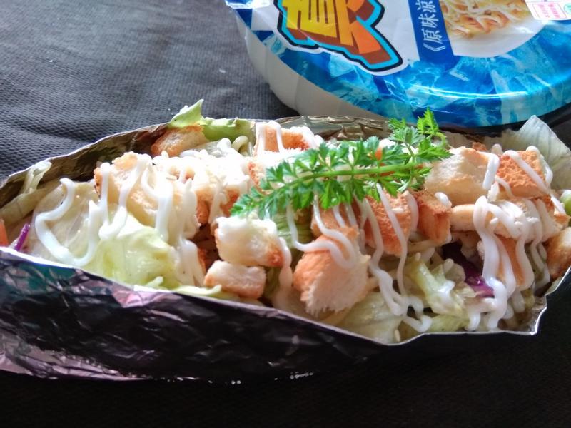 涼麵沙拉船-小七野餐趣