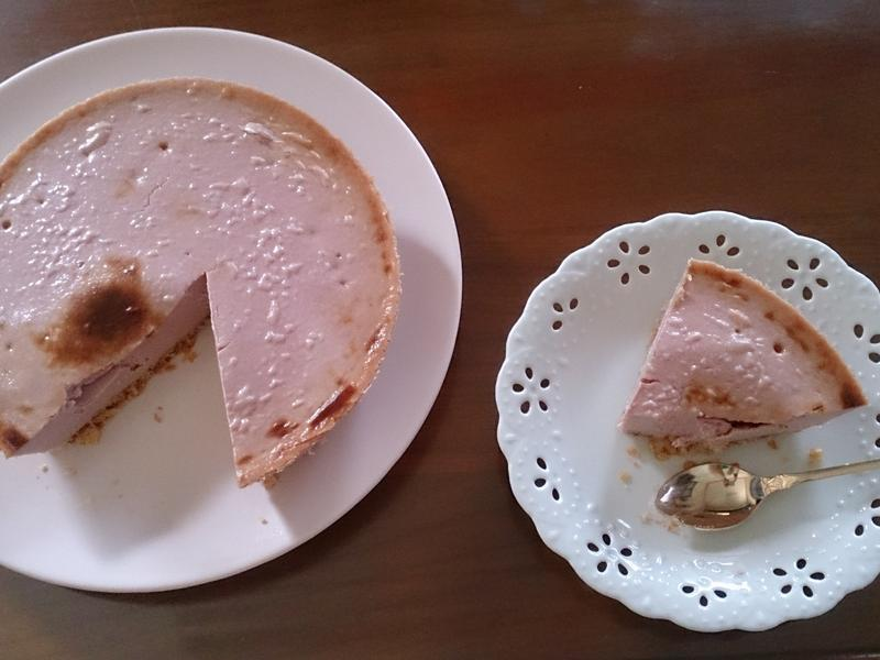 小烤箱-桑椹起司蛋糕