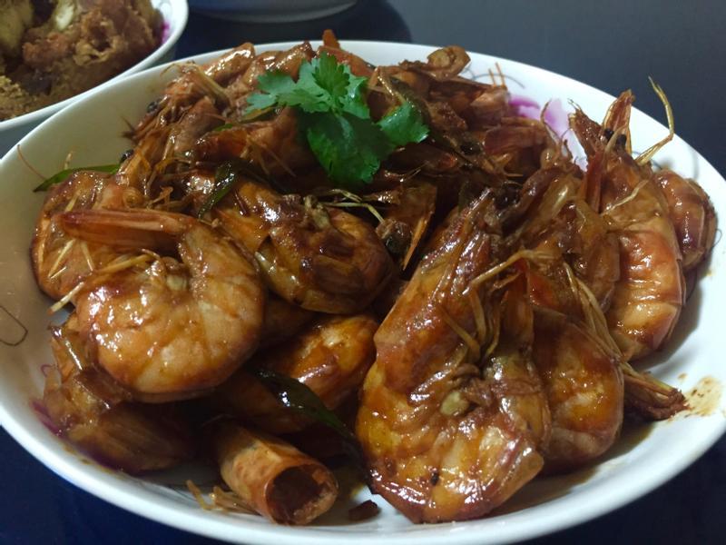 【山東菜】—油燜大蝦