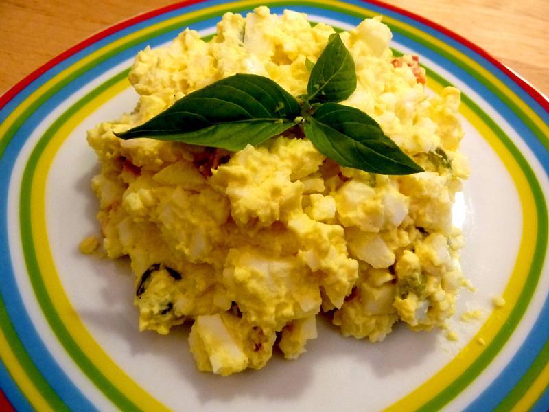 《永新沙拉》黃芥末起司蛋沙拉