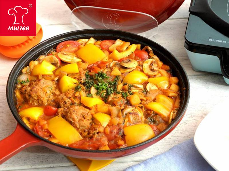 【摩堤_鑄鐵鍋料理】義式茄汁肉丸