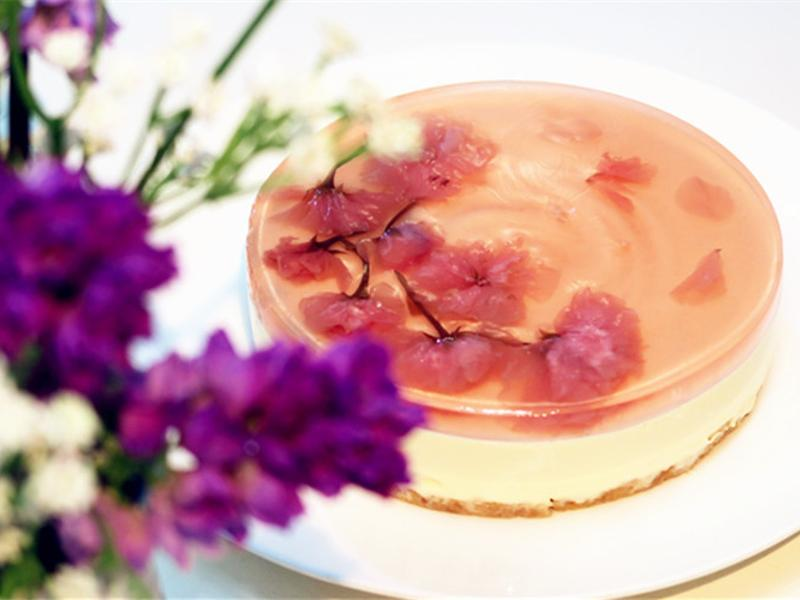 【Tomiz小食堂】櫻花奶油乳酪蛋糕