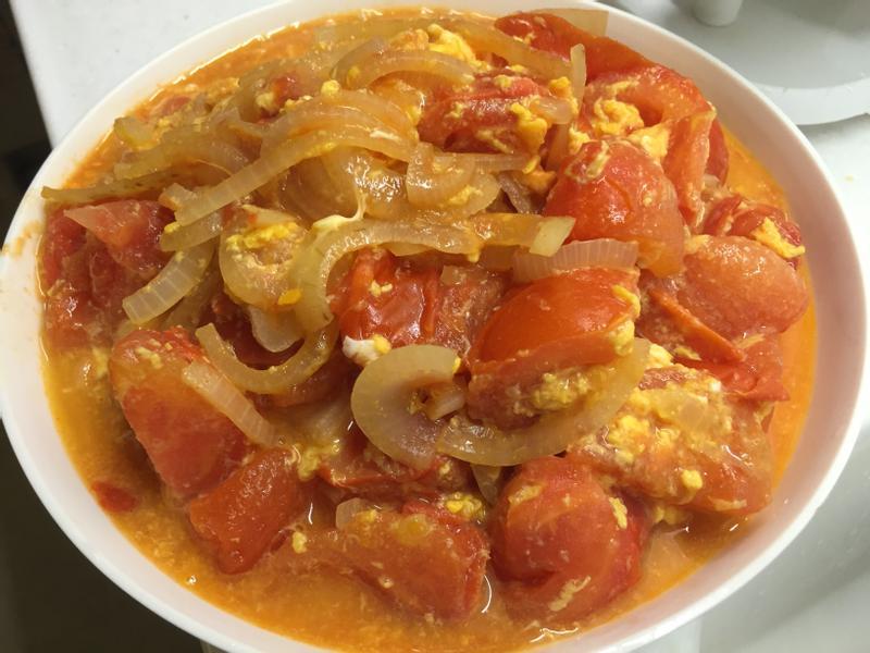 **港式番茄炒蛋~多汁版
