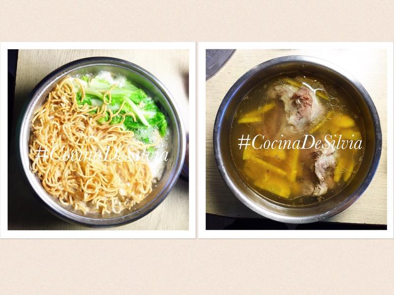 【一湯二吃】黃蘿蔔豬大骨湯