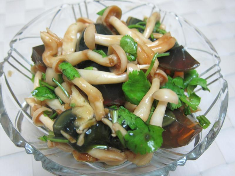 皮蛋涼拌菇菇-好菇道美味家廚