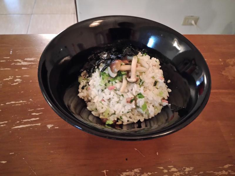 鴻喜菇拌飯,好菇道美味家廚