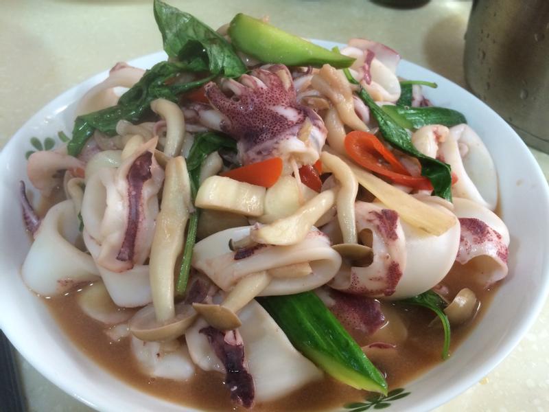 泰式酸辣菇菇小卷