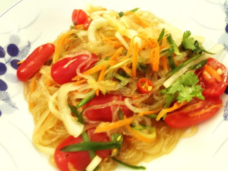 泰式涼拌鮮蔬冬粉