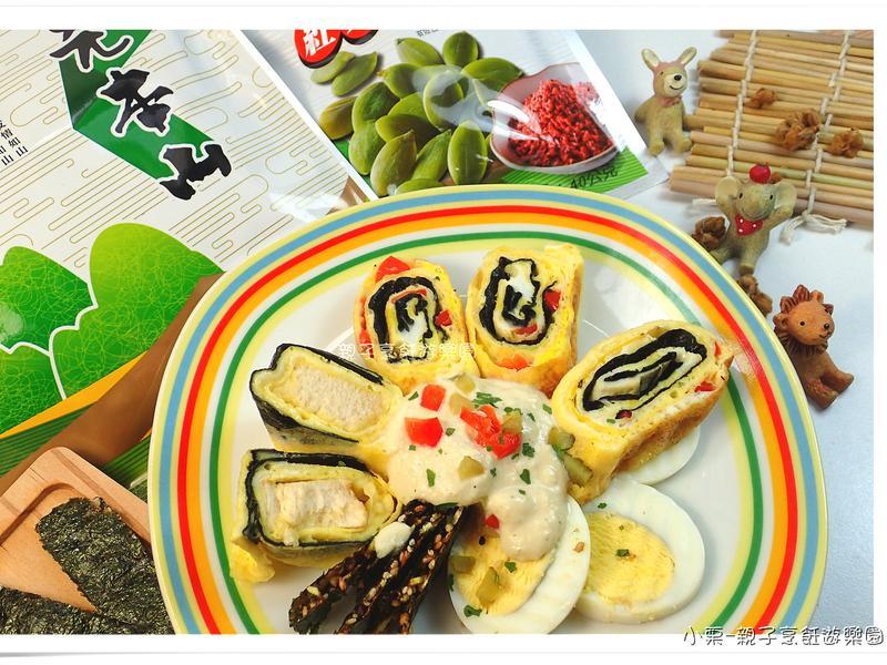【元本山幸福廚房】海苔吐司蛋捲
