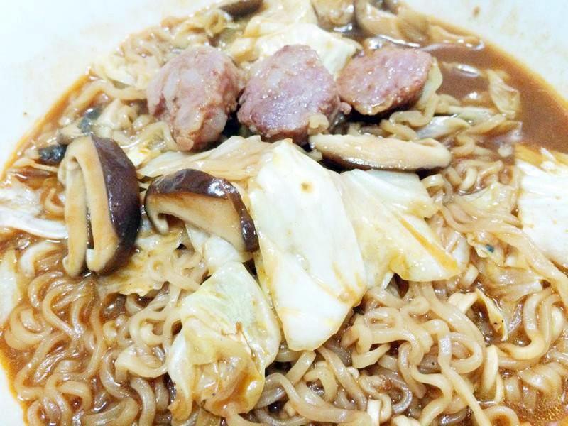 韓式風味炒泡麵