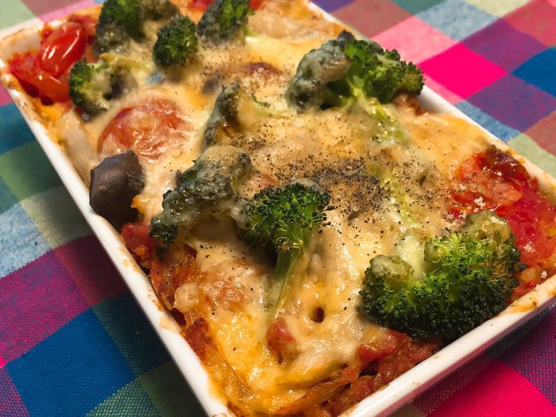 紅醬野菜焗飯