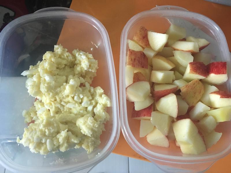 馬鈴薯蛋沙拉&馬鈴薯蘋果沙拉