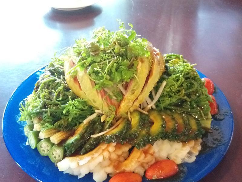 野菜拼盤沙拉