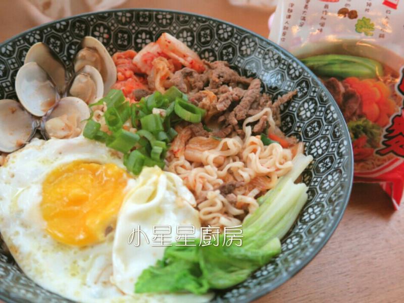 韓式泡菜牛肉麵_記憶中的味味麵