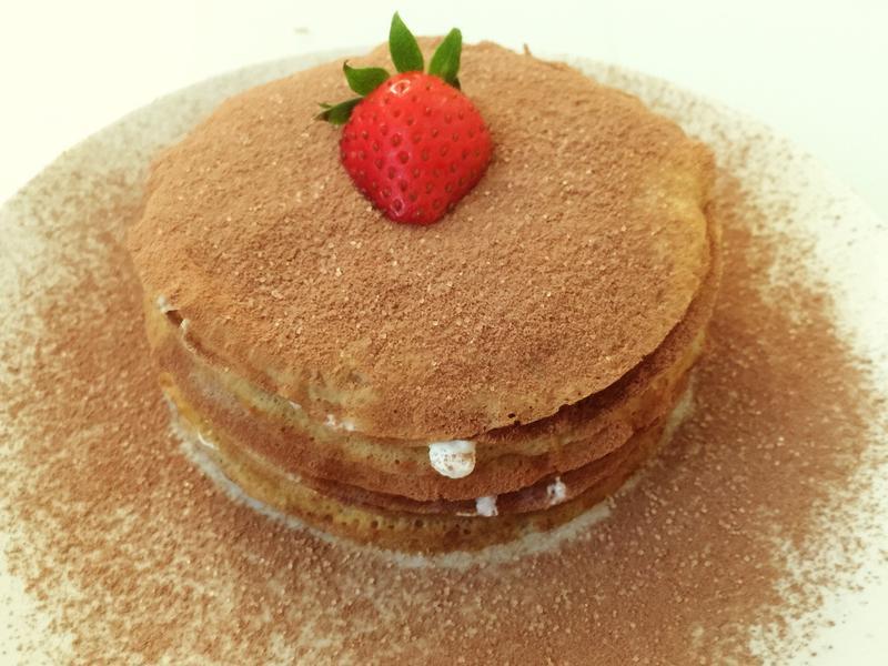 巧克力伯爵千層蛋糕~減糖豆漿版
