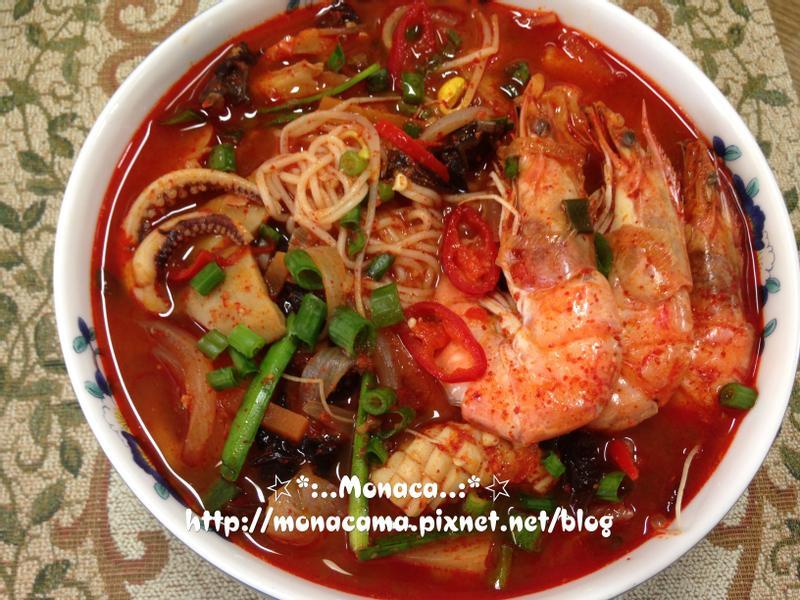 韓式炒碼麵짬뽕