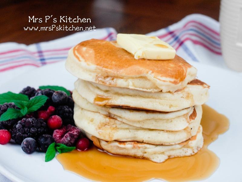 超鬆軟美式鬆餅Pancakes