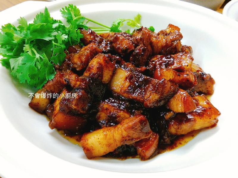 超下飯中式黑胡椒花肉