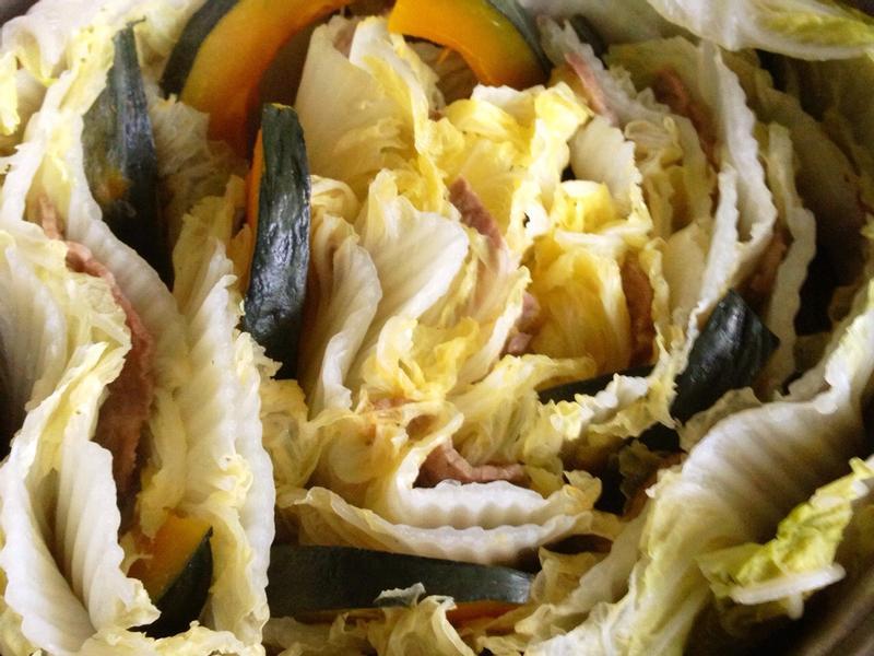千層白菜豬肉鍋