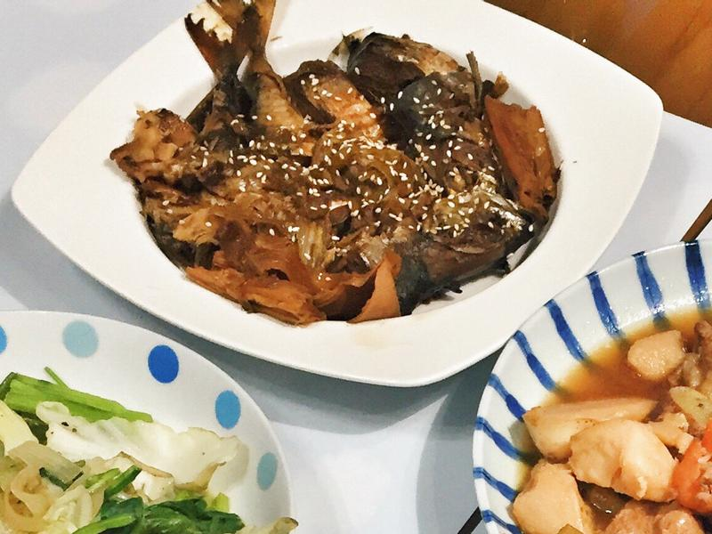 日式佃煮秋刀魚