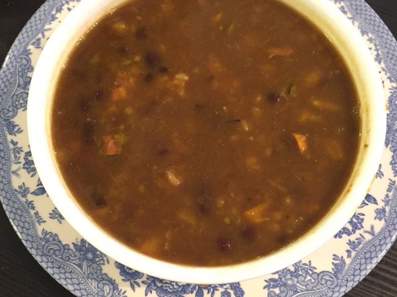 南瓜紅豆麥米粥
