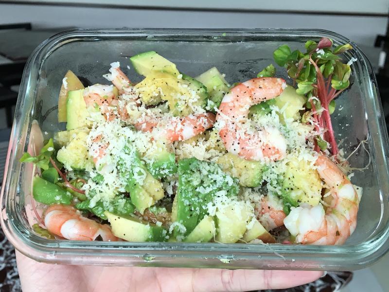 [夏日料理]鮮蝦酪梨沙拉