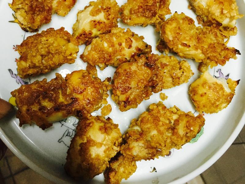 低脂麥片偽雞排