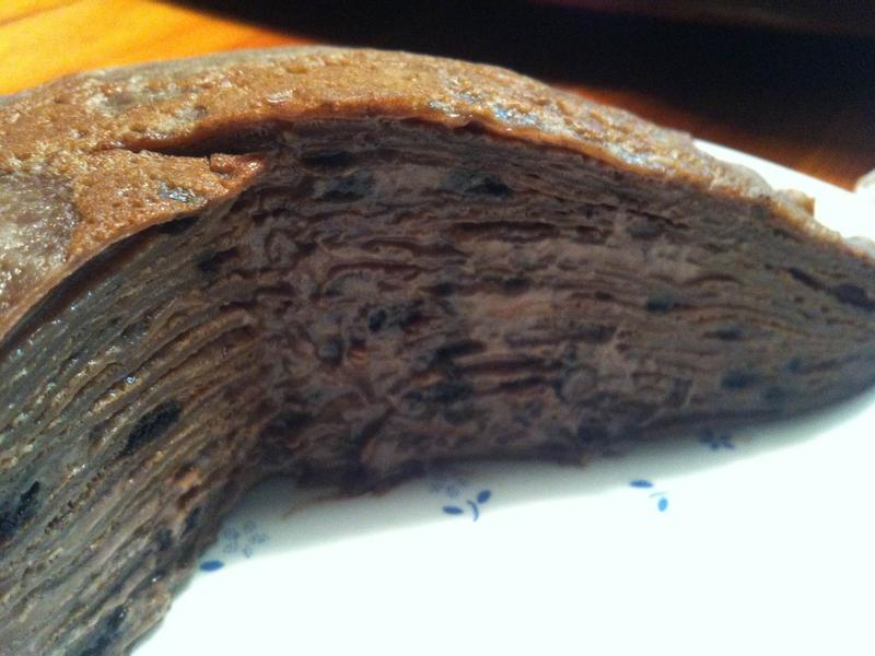 OREO Nutella 千層蛋糕