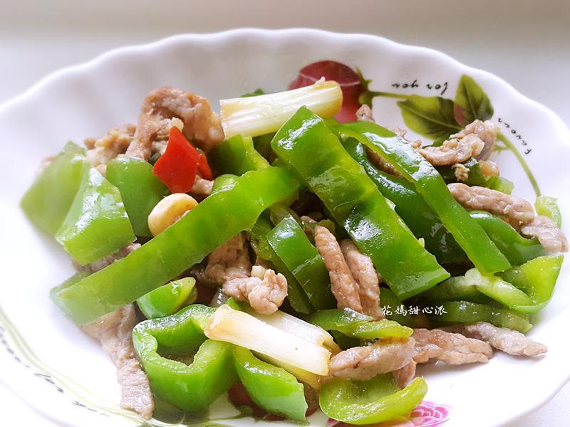 青椒炒肉絲