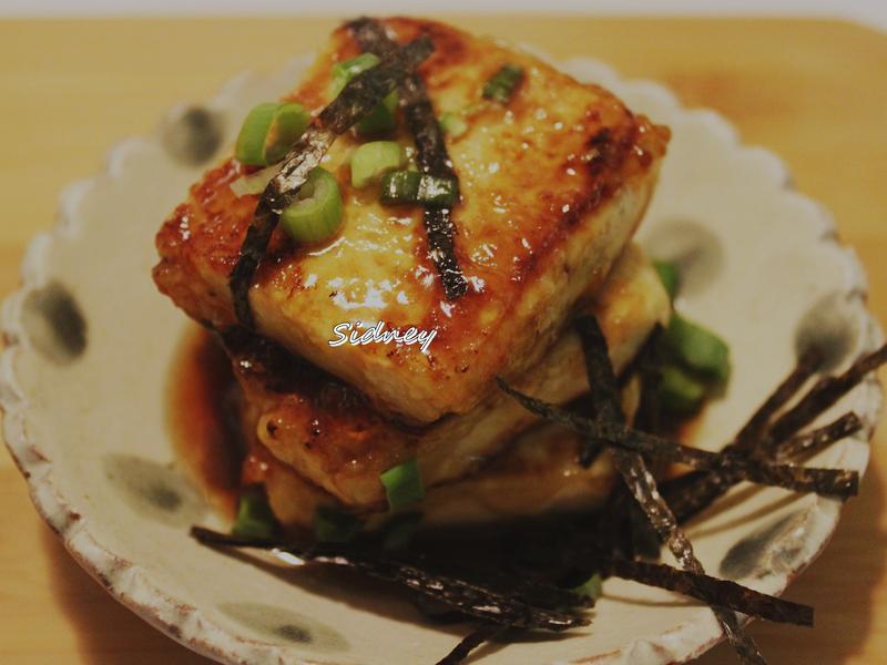 日式照燒豆腐