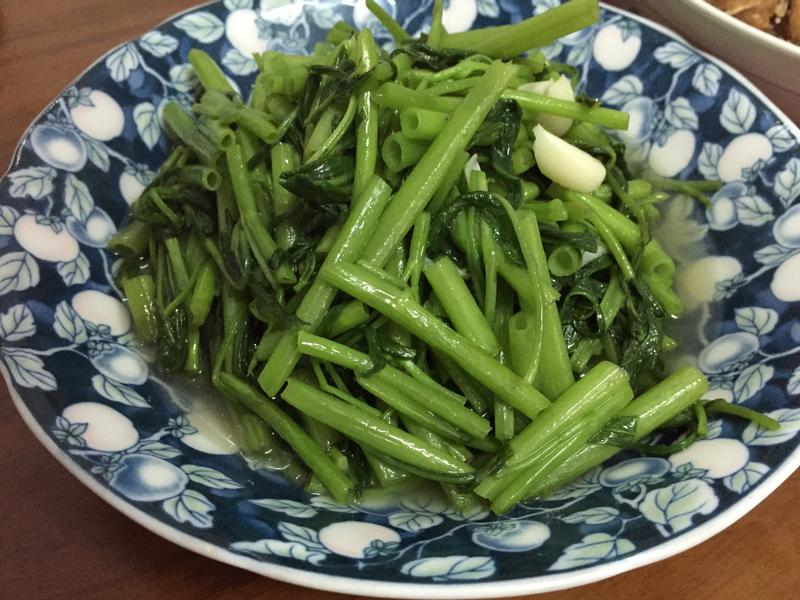 蒜炒空心菜