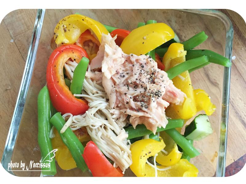 獨食午餐-繽紛溫沙拉