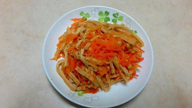 素菜~胡蘿蔔豆絲