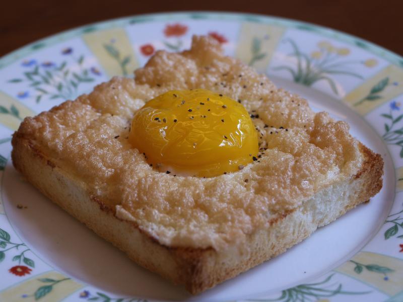 酥皮吐司黃金蛋