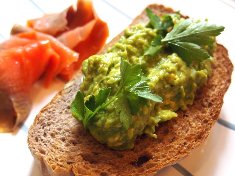 (牛油果)酪梨醬土司-健康早餐