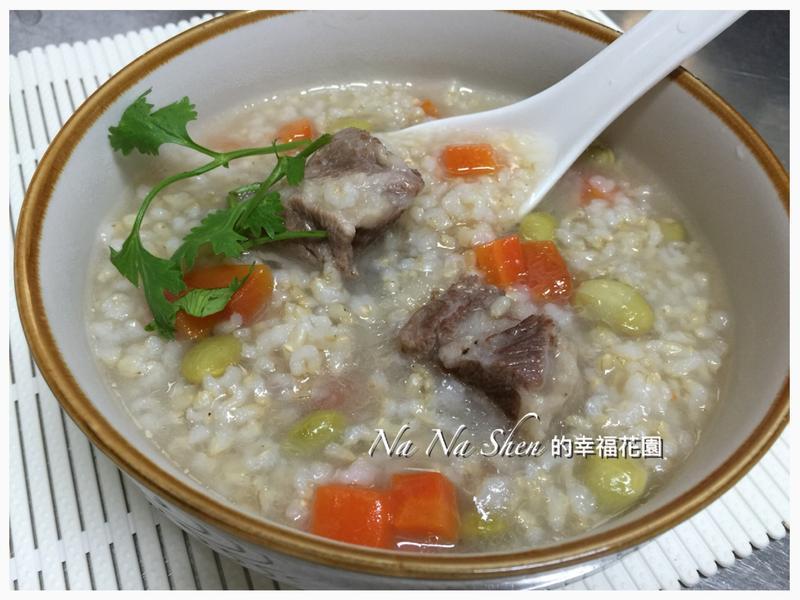 糙米排骨粥