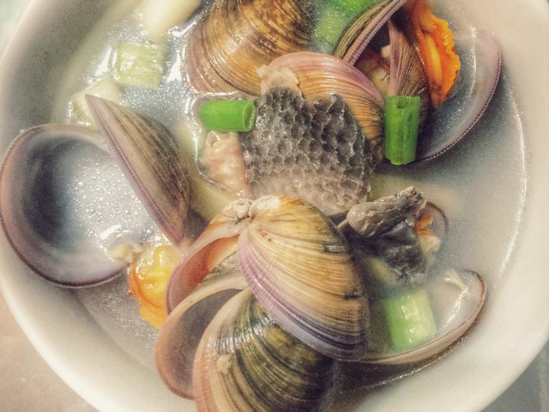 鮮味魚皮湯