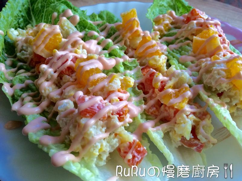 【夏日午茶】清爽蔬果沙拉