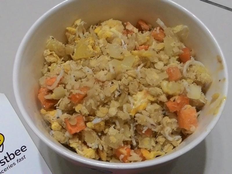 吻仔魚蛋炒飯【搶鮮料理懶廚房】